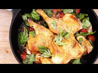 7 Быстрых и легких блюд из курицы
