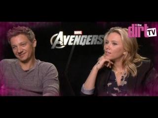 Scarlett Johansson Slams The Avengers Boys! - The Dirt TV
