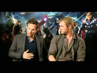 The Avengers cast on T4 Watch (22 April 2012)