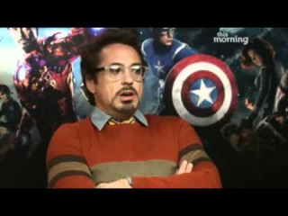 The Avengers on This Morning (25 April 2012)