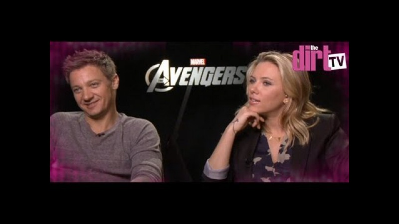 Scarlett Johansson Slams The Avengers Boys! - The Dirt TV