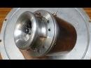 Ночные запуски ТРД на газе керосин - двиг чуть не вылетел