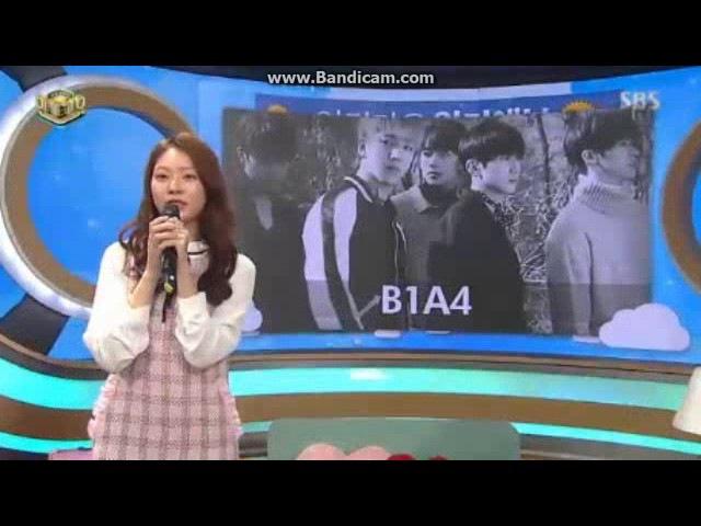 161127 Inkigayo Next Week SNSD HYOYEON,Sechskies,B1A4 etc