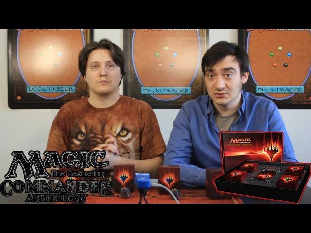 Commander Antology 2017 обзор распаковка Magic the gathering