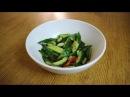 Битые китайские огурцы Рецепт острого салата из огурцов