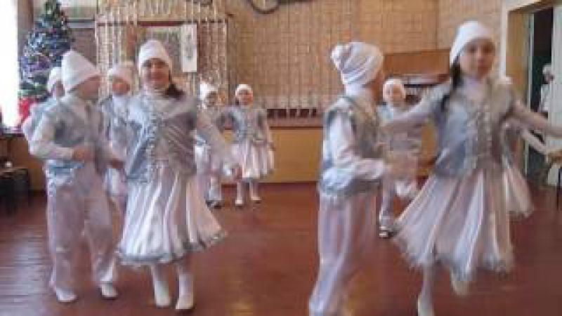 Новый год в школе №125 22 12 2016 Танец