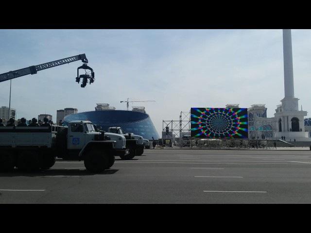Парад Астана генеральная репетиция 2017 прошла на УРА!