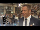 Chris Pine Says His Flip Phone Is a Pain in the Ass | E! Live from the Red Carpet