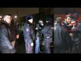 Лев Против - Нападение 15 хулиганов с ножом на активистов