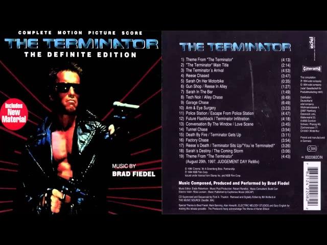 The Terminator [Complete Motion Picture Score: The Definite Edition]