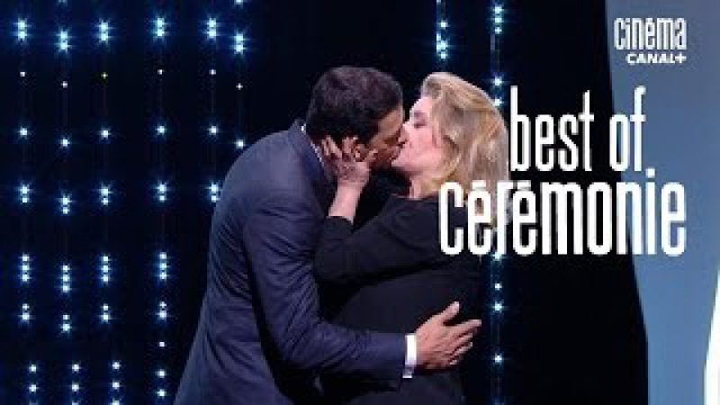 Le baiser de Catherine Deneuve et Laurent Lafitte - Cannes 2016 CANAL