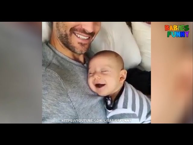 Best Of Cute Baby and Daddy Moment - Precious Moments