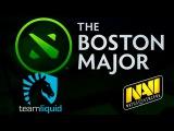 Liquid vs NaVi (bo1)   The Boston Major 2016 Dota 2
