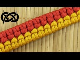 How to weave a Mated Barnacle Knot Paracord Bracelet