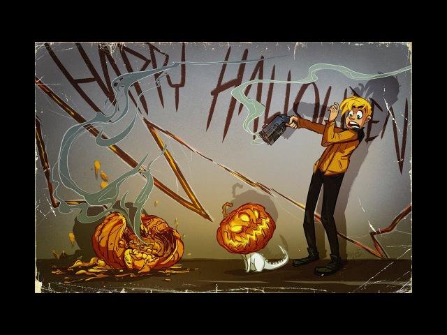 Happy Halloween! - drawing for KOT webcomic