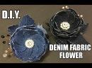 D.I.Y. Denim Fabric Flower Accessory   MyInDulzens