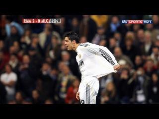Cristiano Ronaldo vs Malaga Home 2009/10