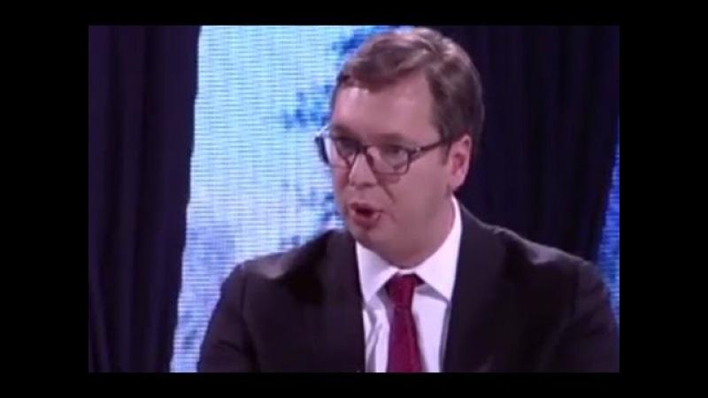 Vučić: Prekinimo sa tim da su Srbi krivi za sve