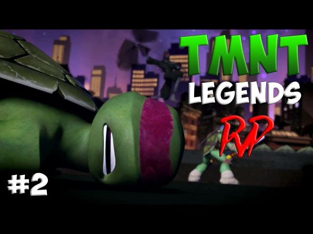 Черепашки-Ниндзя Легенды ТУРНИР 2 (TMNT Legends PVP IOS Gameplay 2016)