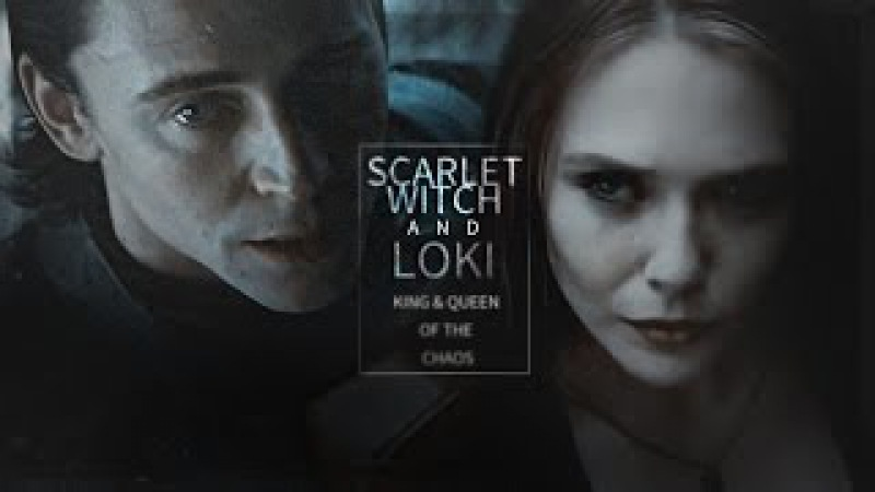 Scarlet witch loki | king and queen of the chaos