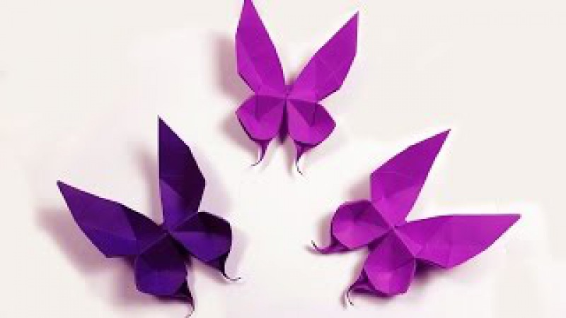 How to make a paper Butterfly?
