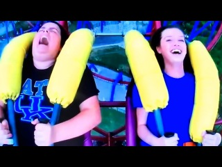 Girl Passing Out On The Slingshot Ride || Funny Compilation || FailFun