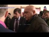 Удар Точкой-У по Донецку во время совещания Андрея Пургина и Дениса Пушилина