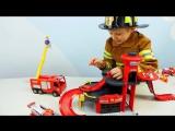 Пожарные Машинки  Все серии подряд. Пожарная часть Лего и Пожарный Даник. Видео для детей