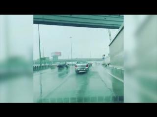 Снегопад 8 мая в Москве