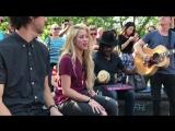 Шакира исполняет 'Chantaje' в Сквер-Парке, Нью-Йорка