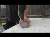 КАК ОТКРЫТЬ КОНСЕРВНУЮ БАНКУ МАЧЕТЕ How To Open a Can with a Machete - Survival Hack #53