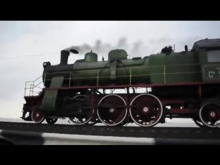 Паровоз Су251-86 на дамбе Кременчугского ВДХР - Украина вперёд!