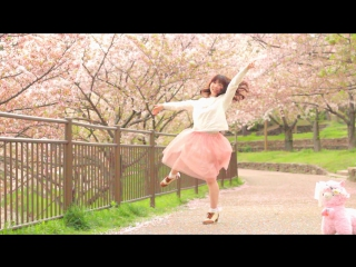【帆夏】春に一番近い街 踊ってみた【桜】 sm31035358