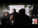 Patrick J Adams and Troian Bellisario outside the Pre SAG Awards Party at Chateau Marmont in West H