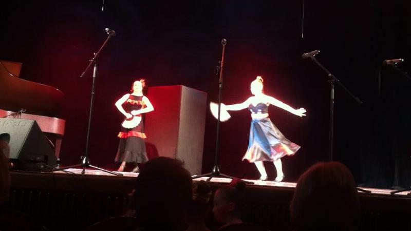 Испанский танец, Даша и Настя
