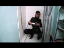 Lolly Badcock in catsuit shower
