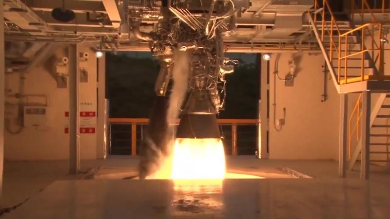 Запуск реактивного двигателя.