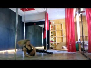 exotic pole dance. как всегда  импровизация