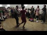 Танцевальный батл в стиле 30-х годов, зажигательные танцы
