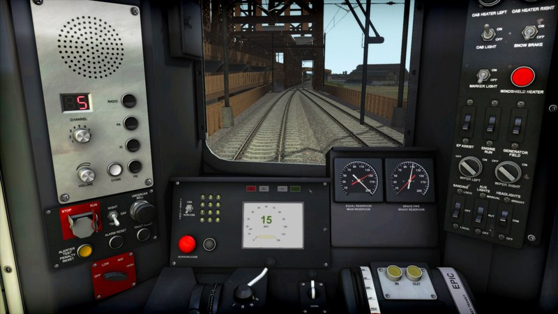 Train Simulator 2017 (58.3a + 5 DLC) (2016) PC | Repack by Other s - Скриншот 1