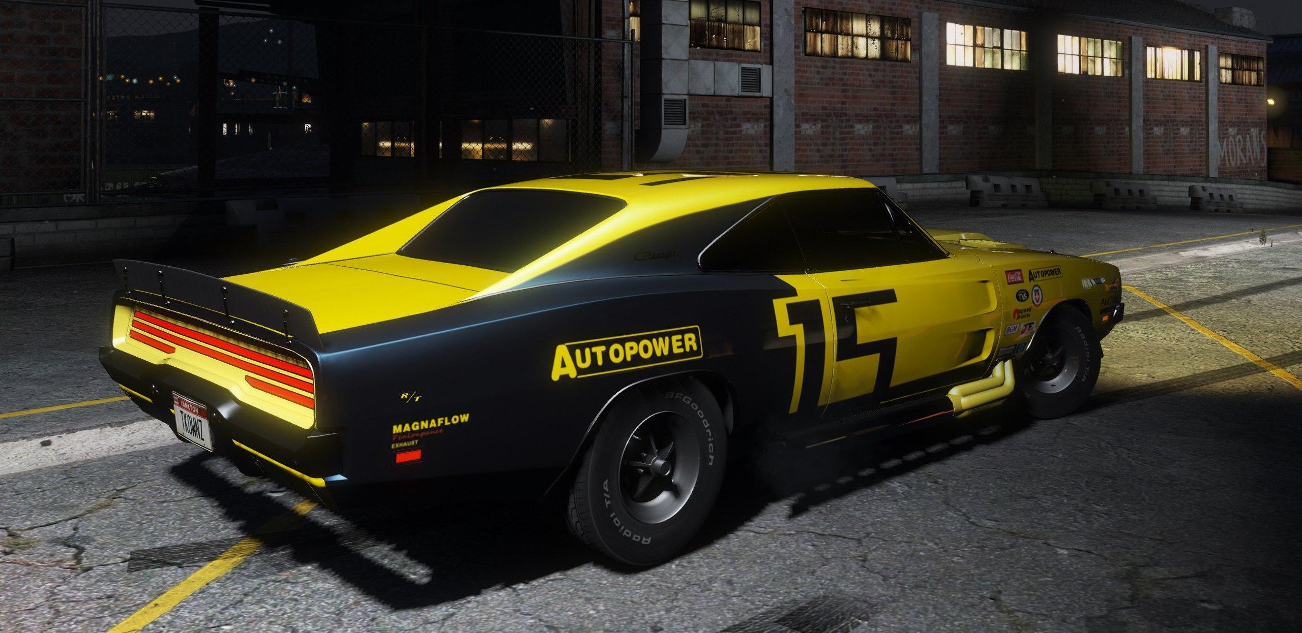 1969 Dodge Charger R/T для GTA V - Скриншот 1