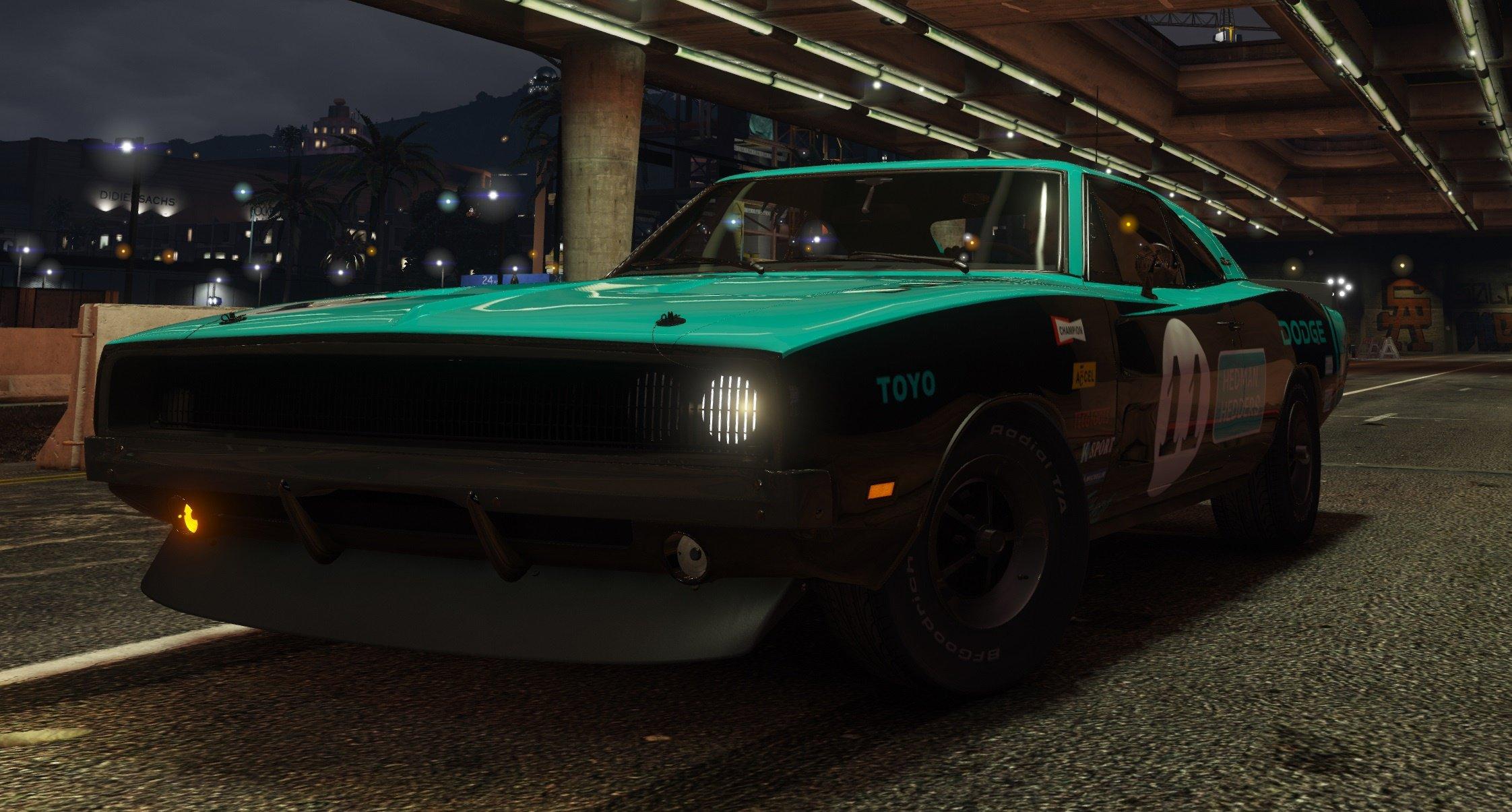 1969 Dodge Charger R/T для GTA V - Скриншот 2