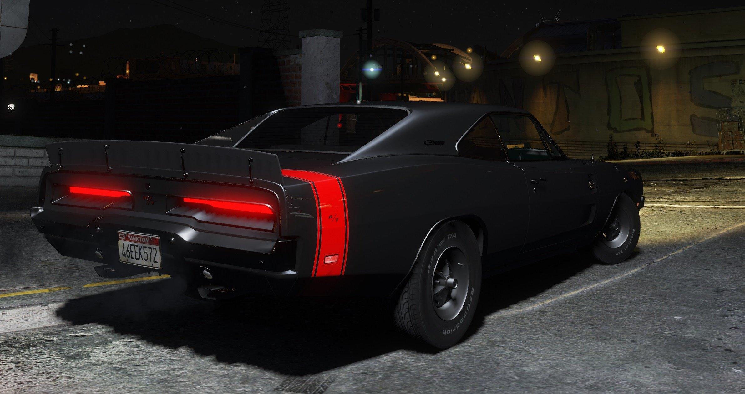 1969 Dodge Charger R/T для GTA V - Скриншот 3