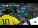 Последний гол Роналдиньо за сборную Бразилии