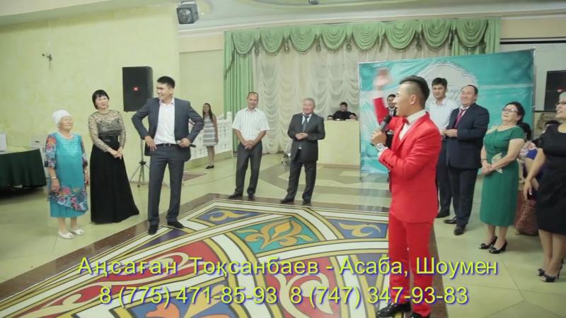 Аңсаған Тоқсанбаев - Асаба, Шоумен