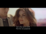 Jackson Harris  ft. Lucy Hale - Come Back Down To Earth (субтитры)