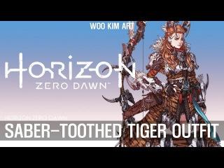 Horizon Zero Dawn - Concept Art - Outfit / 호라이즌 제로 던 - 컨셉아트 - 코스튬