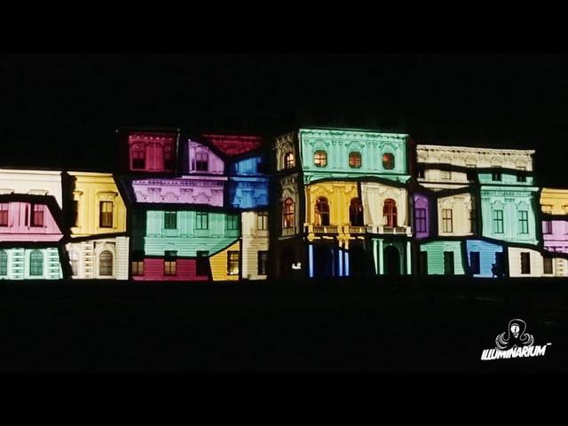 Illuminarium3000. Belvedere Palace. 3D Mapping. Full Version. 2014