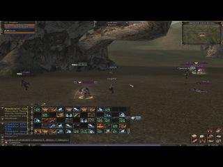 Dilvish (LordYama) vs ROA. Lineage 2 Classic. Gran Kain