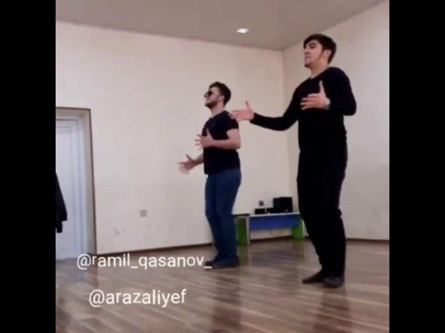 Ramil qasanov ve araz aliyev